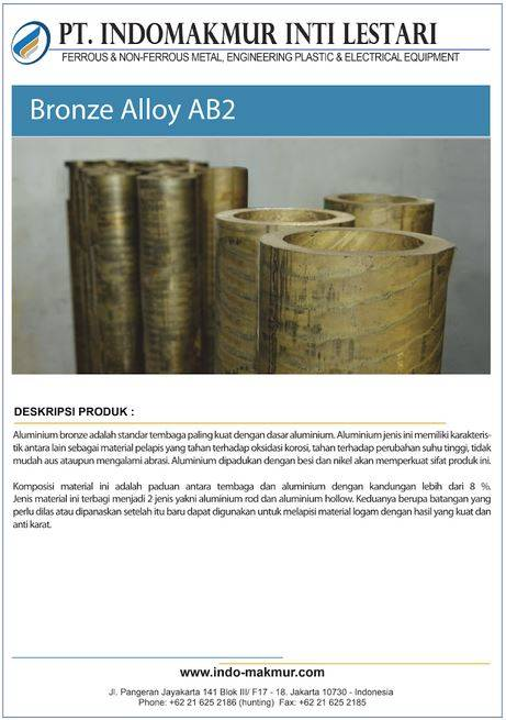 AB2 Bronze Alloy